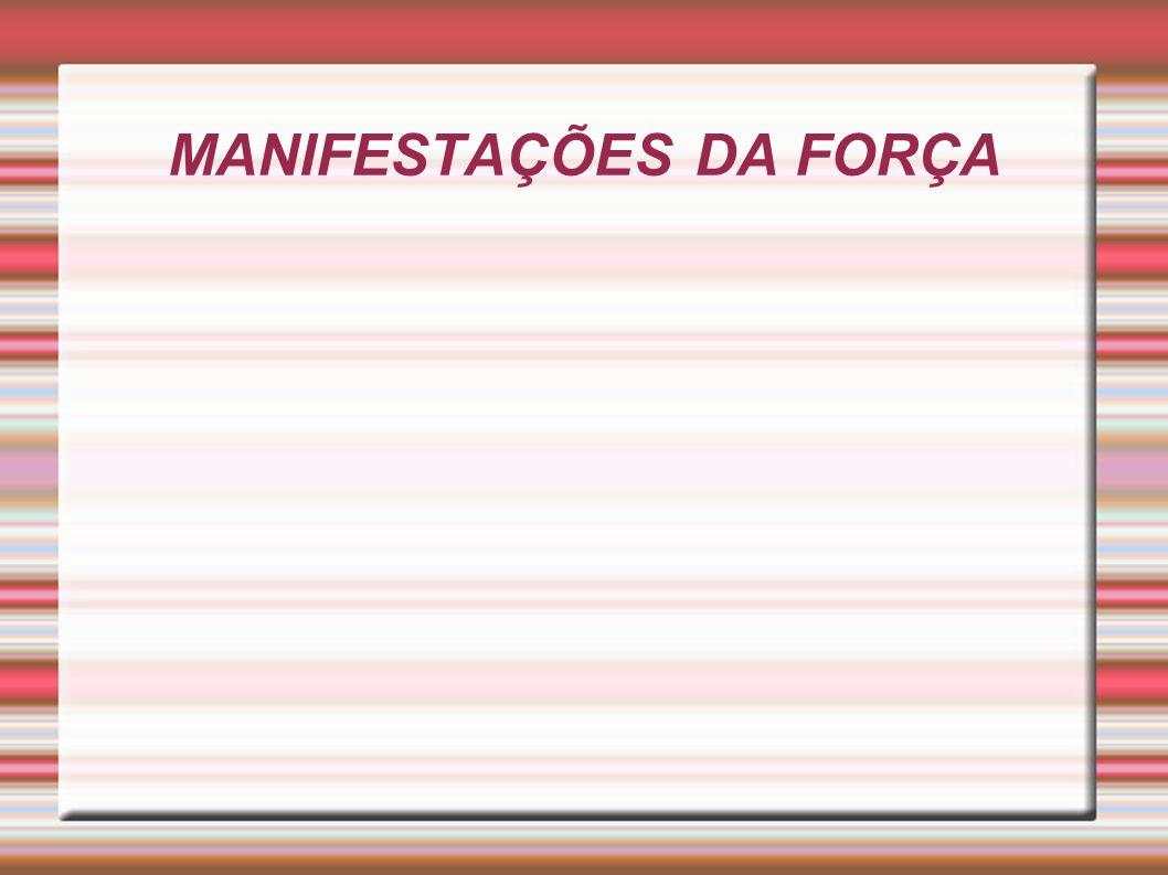 MANIFESTAÇÕES DA FORÇA
