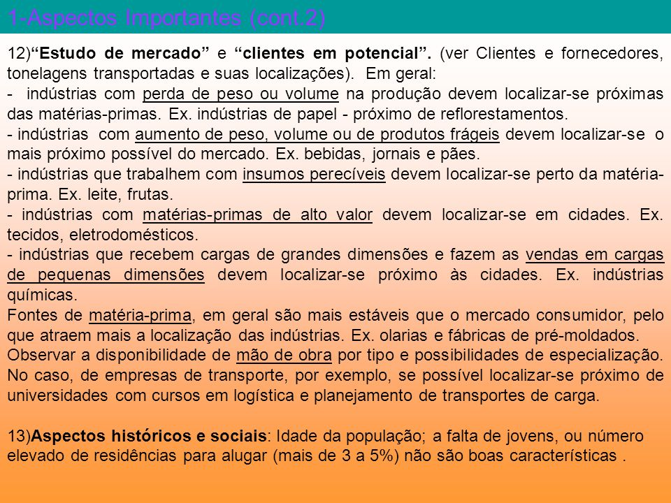 1-Aspectos Importantes (cont.2)