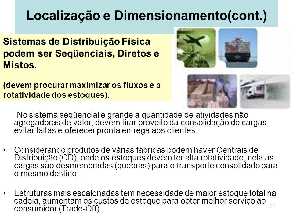 Localização e Dimensionamento(cont.)