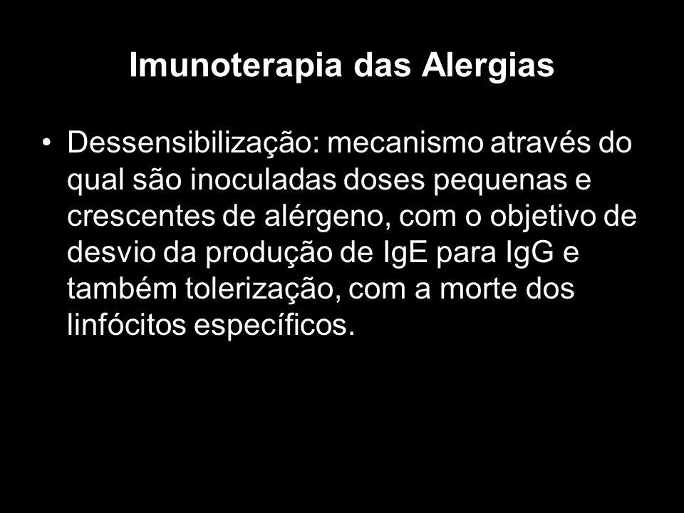 Imunoterapia das Alergias