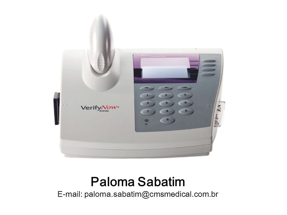 E-mail: paloma.sabatim@cmsmedical.com.br