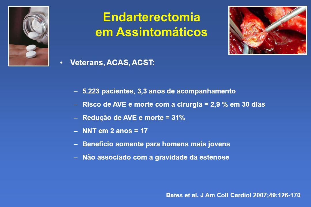 Endarterectomia em Assintomáticos