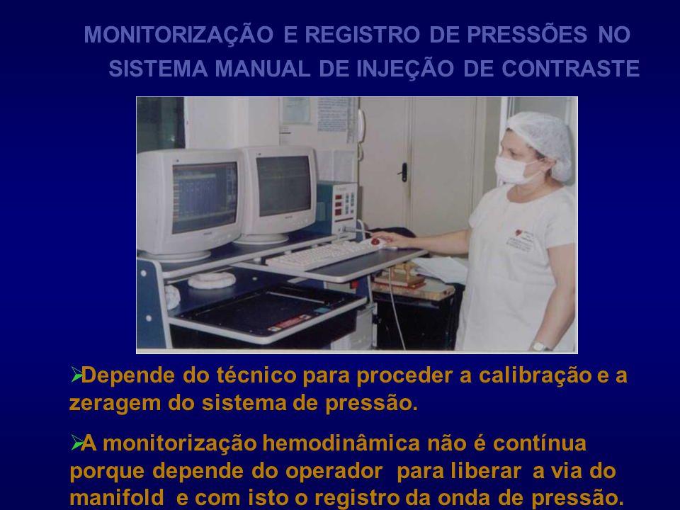 MONITORIZAÇÃO E REGISTRO DE PRESSÕES NO