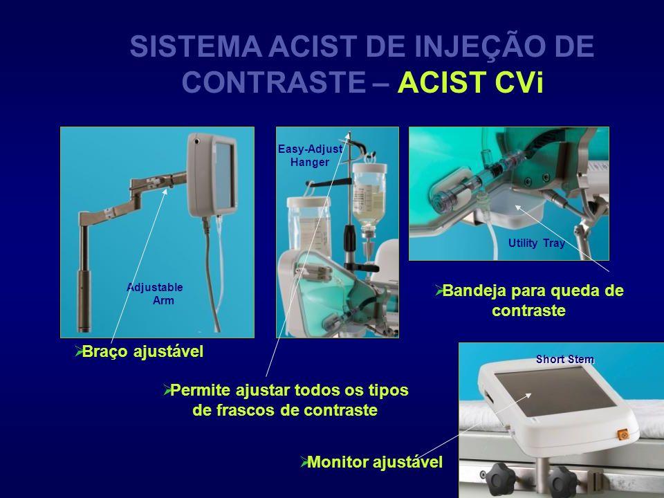 SISTEMA ACIST DE INJEÇÃO DE CONTRASTE – ACIST CVi
