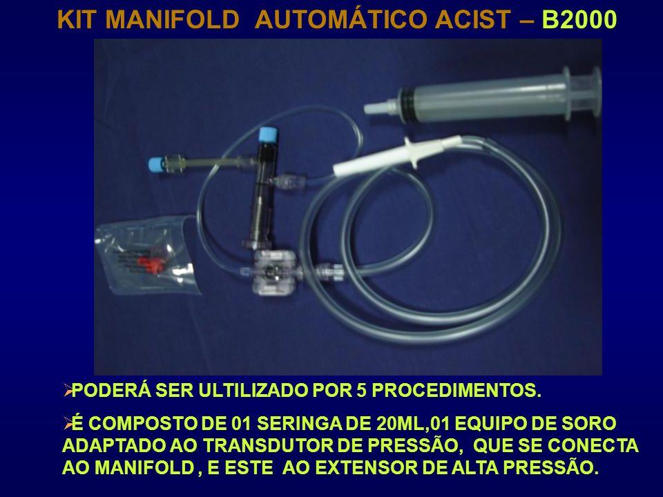 KIT MANIFOLD AUTOMÁTICO ACIST – B2000