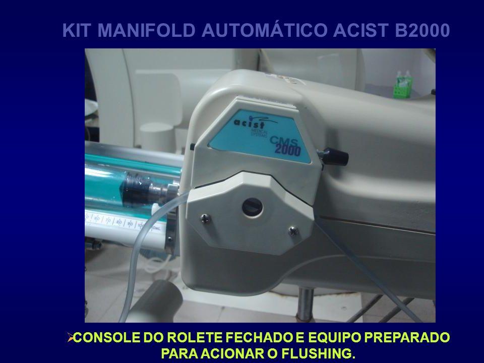 KIT MANIFOLD AUTOMÁTICO ACIST B2000