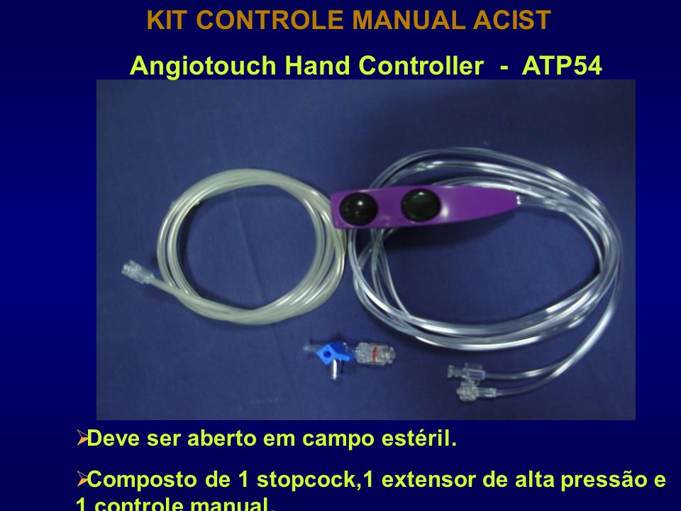 KIT CONTROLE MANUAL ACIST Angiotouch Hand Controller - ATP54
