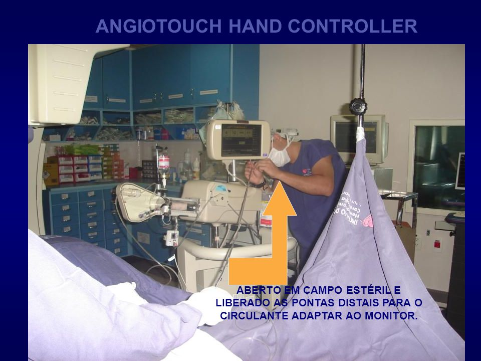 ANGIOTOUCH HAND CONTROLLER