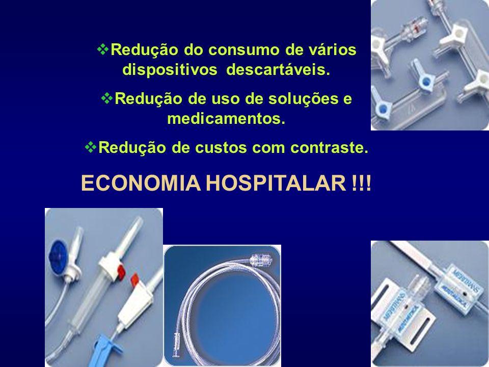 Redução do consumo de vários dispositivos descartáveis.