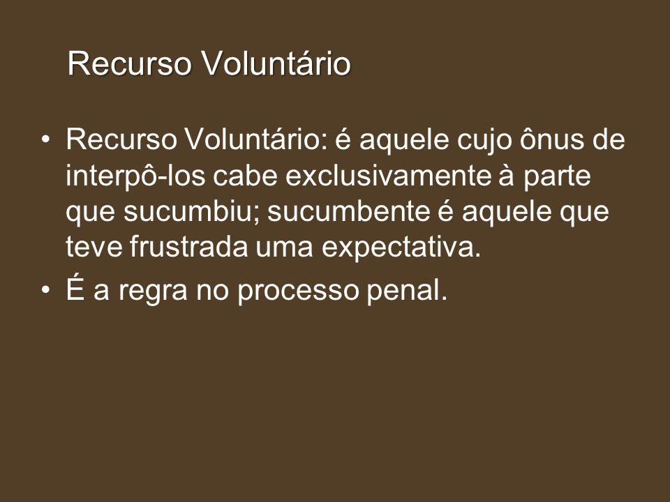Recurso Voluntário