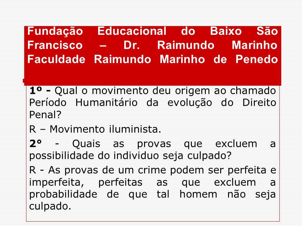 Fundação Educacional do Baixo São Francisco – Dr