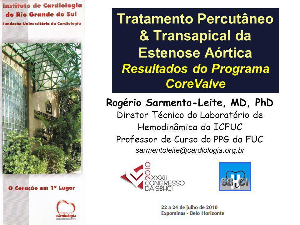Tratamento Percutâneo & Transapical da Estenose Aórtica