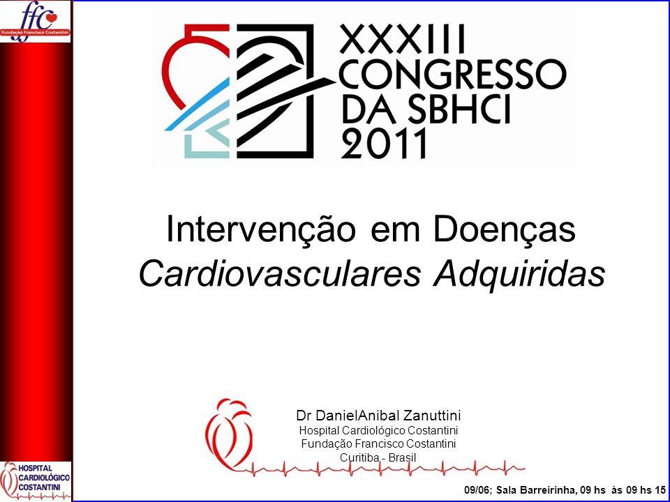 Intervenção em Doenças Cardiovasculares Adquiridas