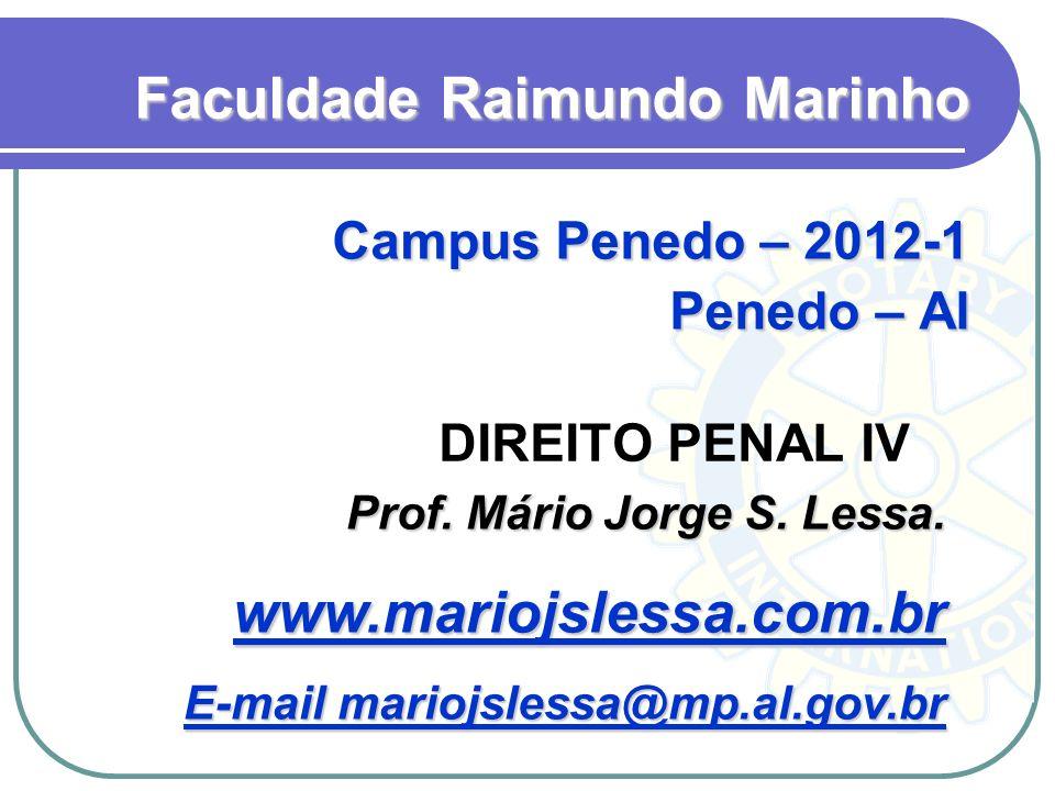Faculdade Raimundo Marinho Campus Penedo – 2012-1 Penedo – Al