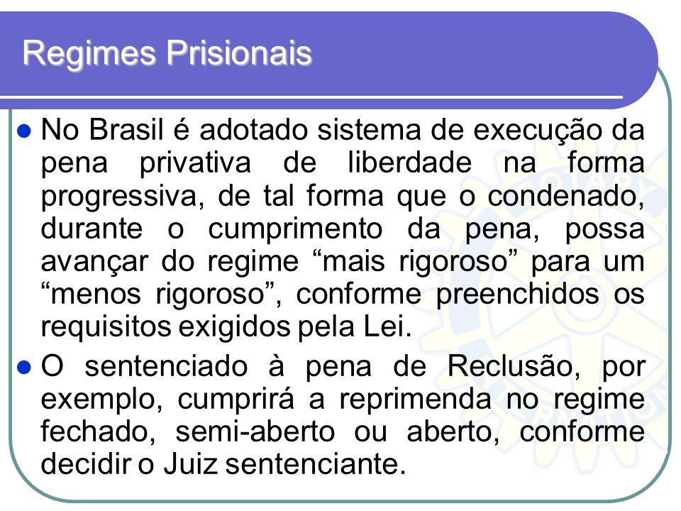 Regimes Prisionais