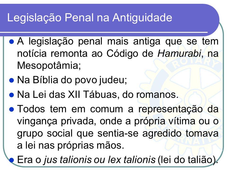 Legislação Penal na Antiguidade