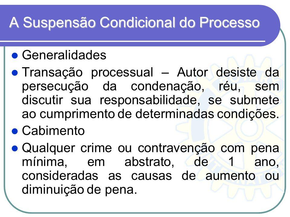 A Suspensão Condicional do Processo