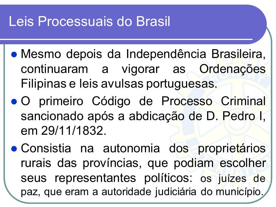 Leis Processuais do Brasil