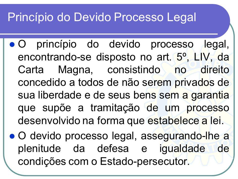 Princípio do Devido Processo Legal