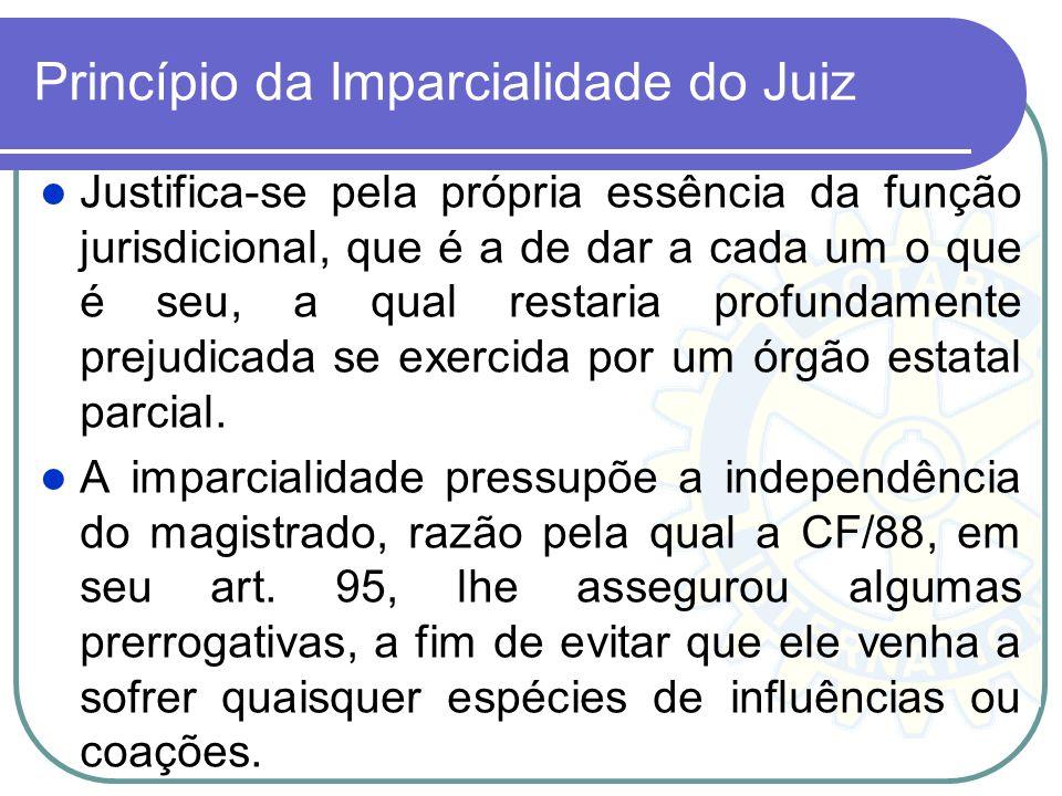 Princípio da Imparcialidade do Juiz