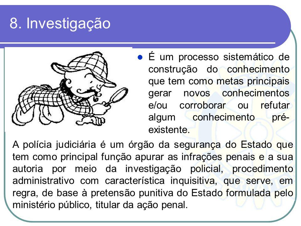 8. Investigação