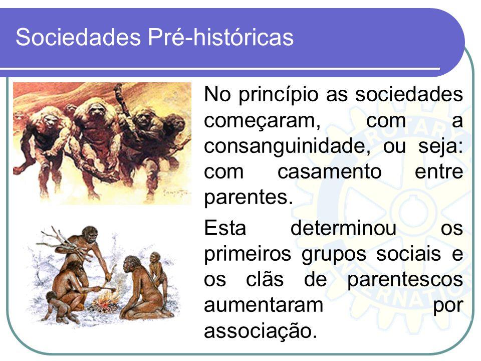 Sociedades Pré-históricas
