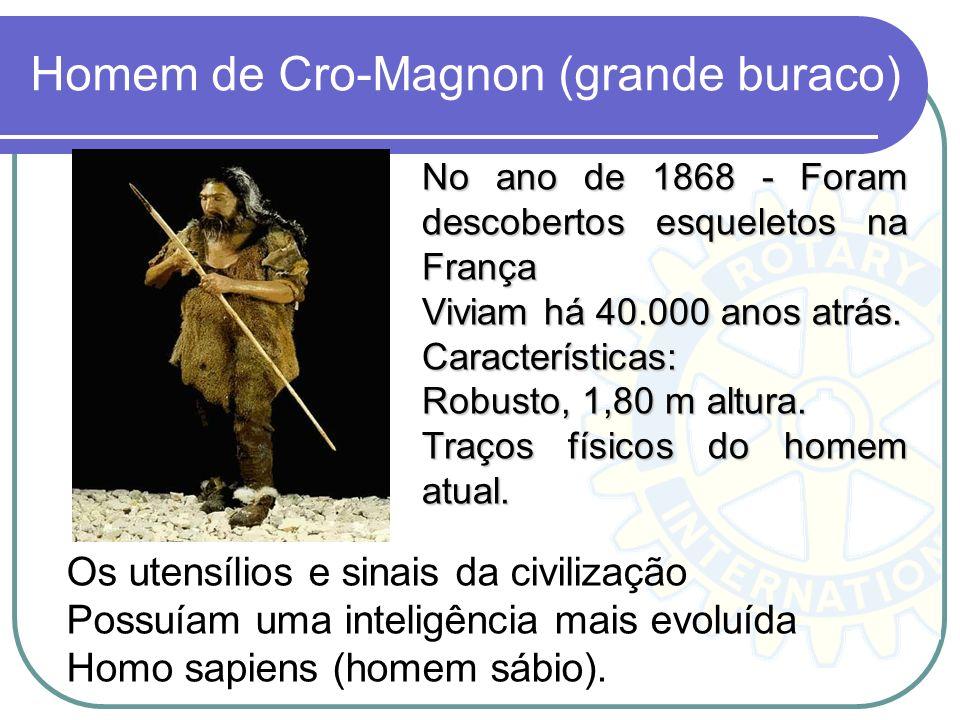 Homem de Cro-Magnon (grande buraco)