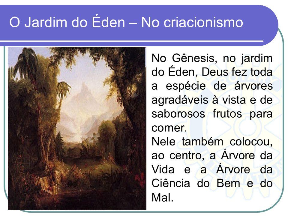 O Jardim do Éden – No criacionismo