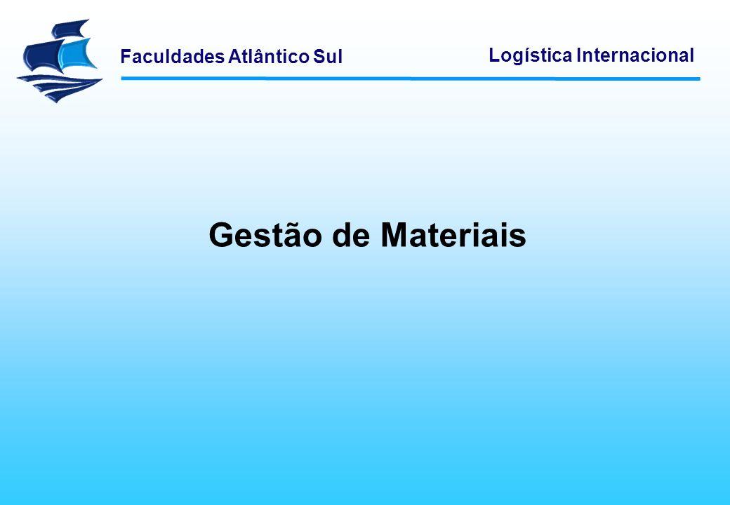 Gestão de Materiais Logística Empresarial