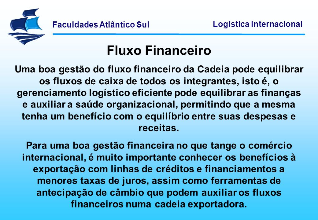 Fluxo Financeiro