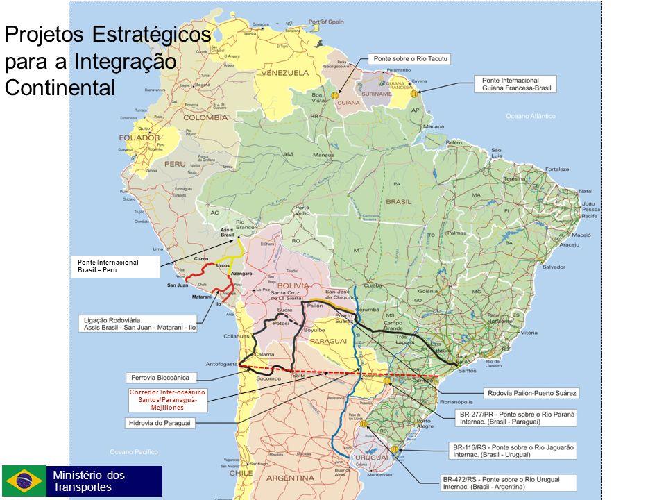 Corredor Inter-oceânico Santos/Paranaguá-Mejillones
