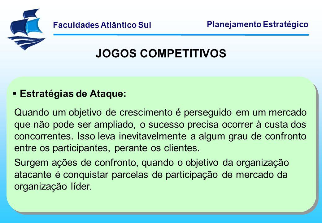 JOGOS COMPETITIVOS Estratégias de Ataque: