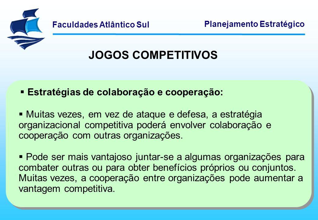 Estratégias de colaboração e cooperação: