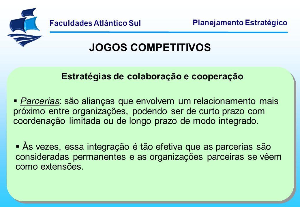 JOGOS COMPETITIVOS Estratégias de colaboração e cooperação