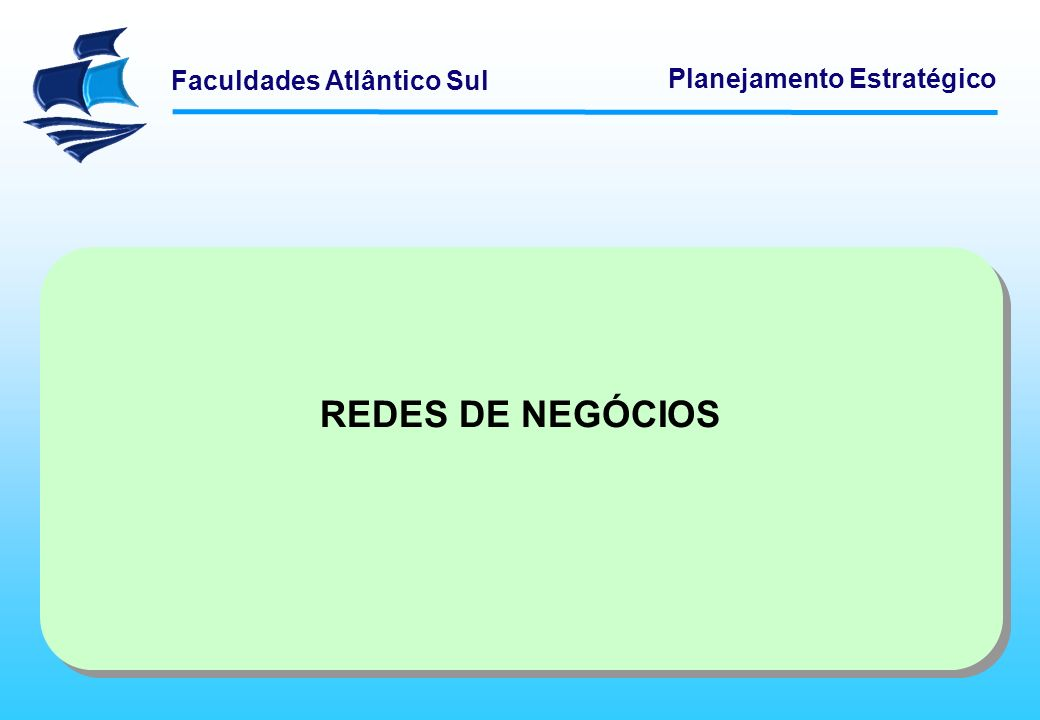 REDES DE NEGÓCIOS Logística Empresarial