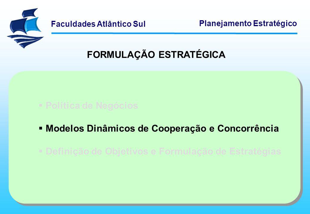 FORMULAÇÃO ESTRATÉGICA