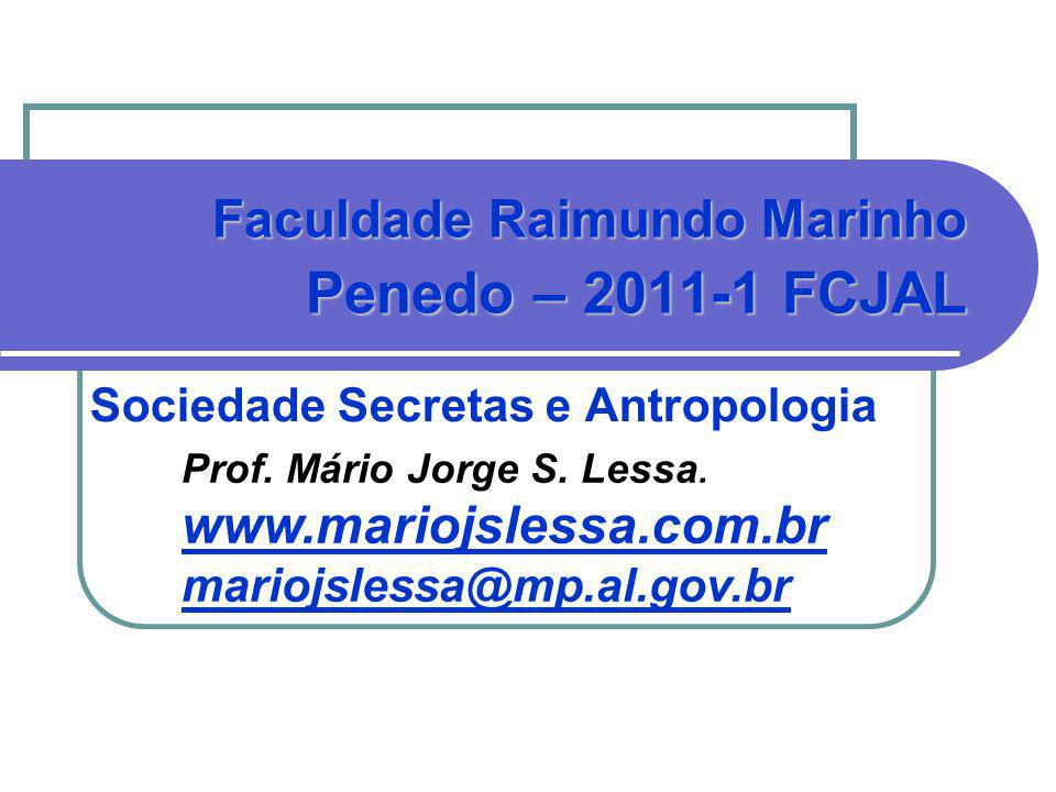 Sociedade Secretas e Antropologia