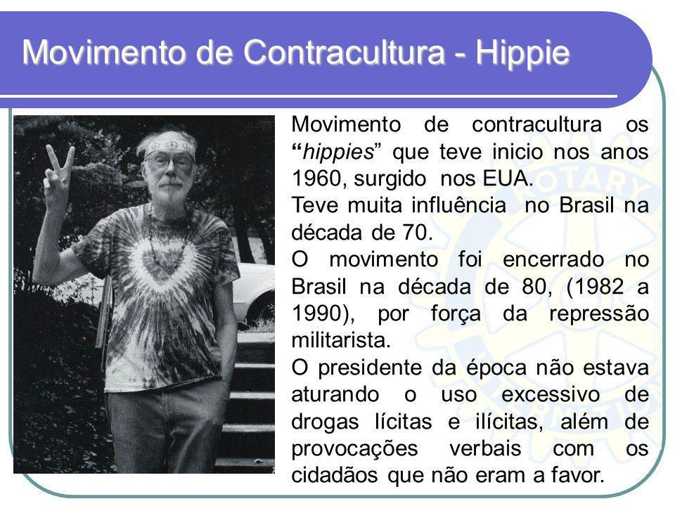 Movimento de Contracultura - Hippie