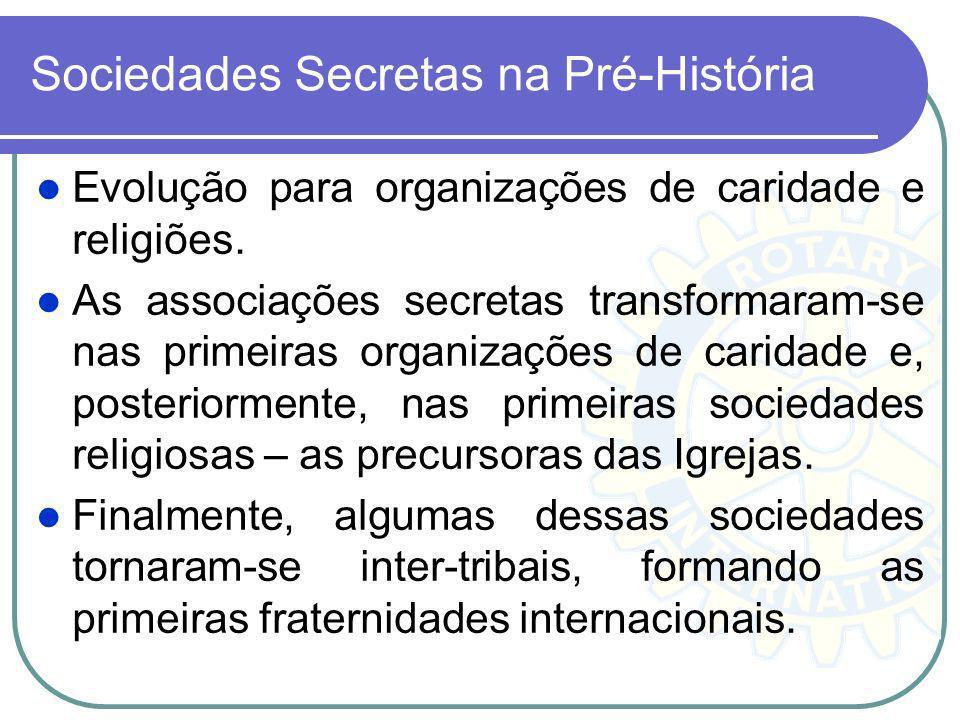 Sociedades Secretas na Pré-História