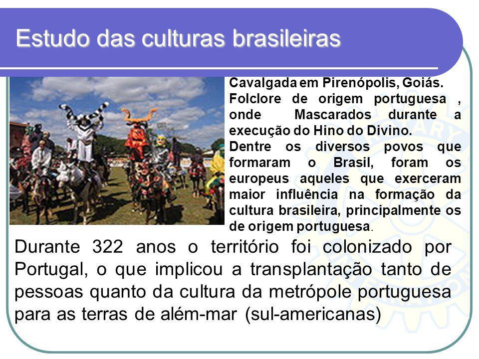 Estudo das culturas brasileiras