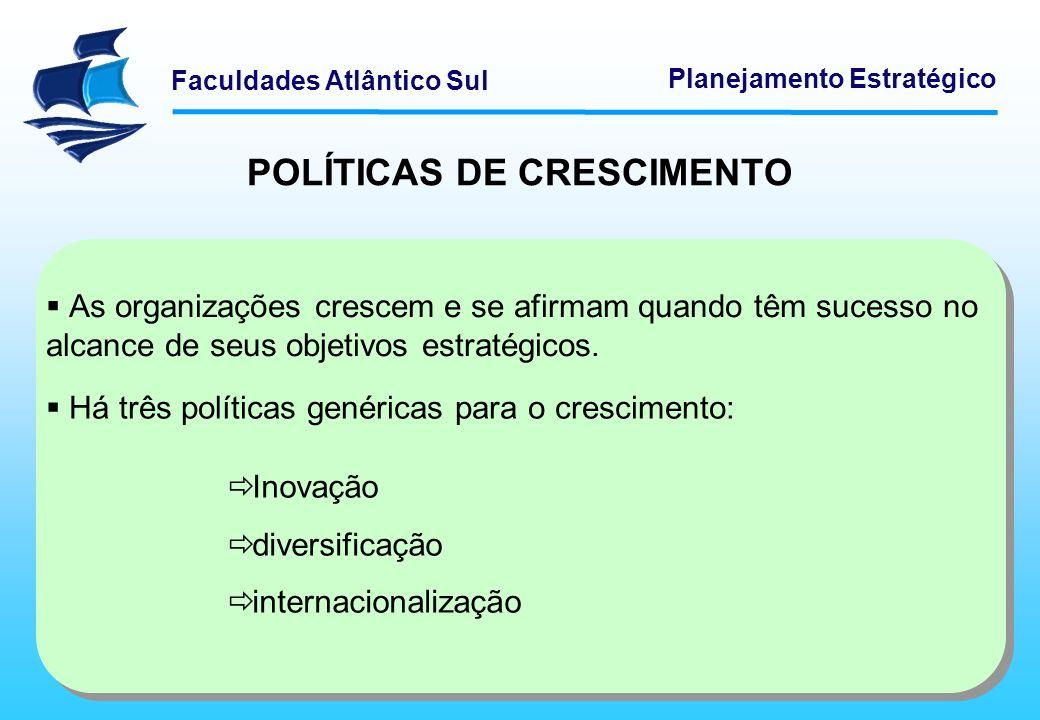 POLÍTICAS DE CRESCIMENTO