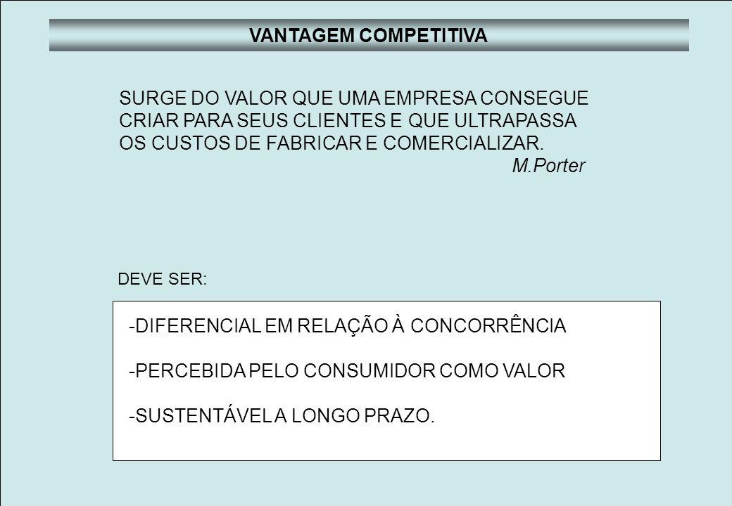 SURGE DO VALOR QUE UMA EMPRESA CONSEGUE
