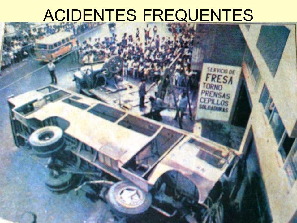 ACIDENTES FREQUENTES