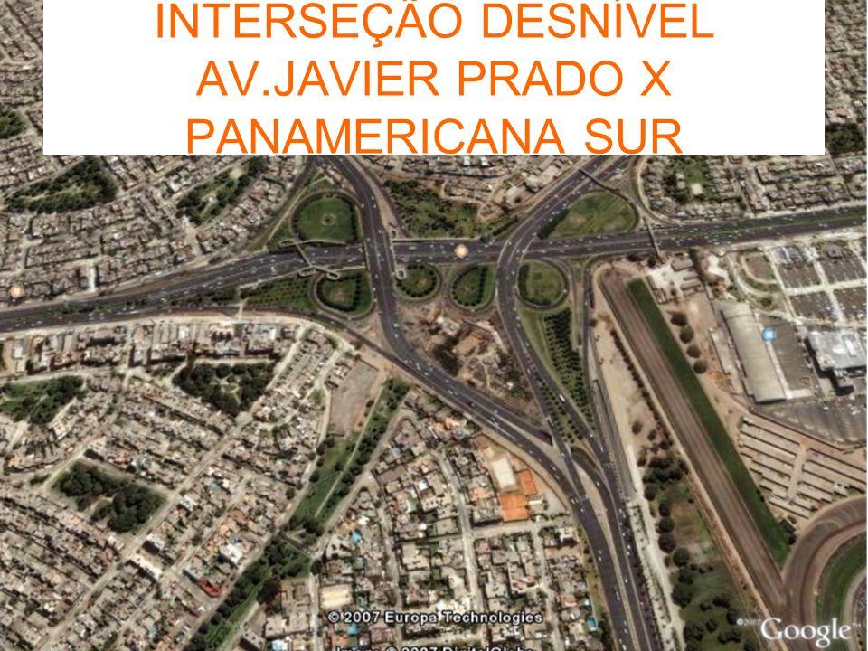 INTERSEÇÃO DESNÍVEL AV.JAVIER PRADO X PANAMERICANA SUR