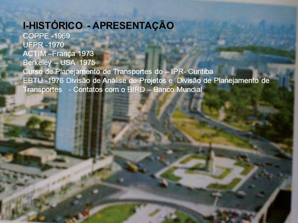I-HISTÓRICO - APRESENTAÇÃO