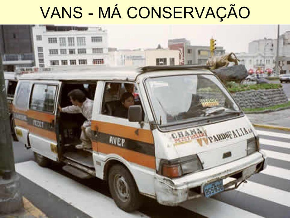 VANS - MÁ CONSERVAÇÃO
