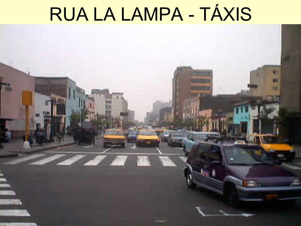 RUA LA LAMPA - TÁXIS