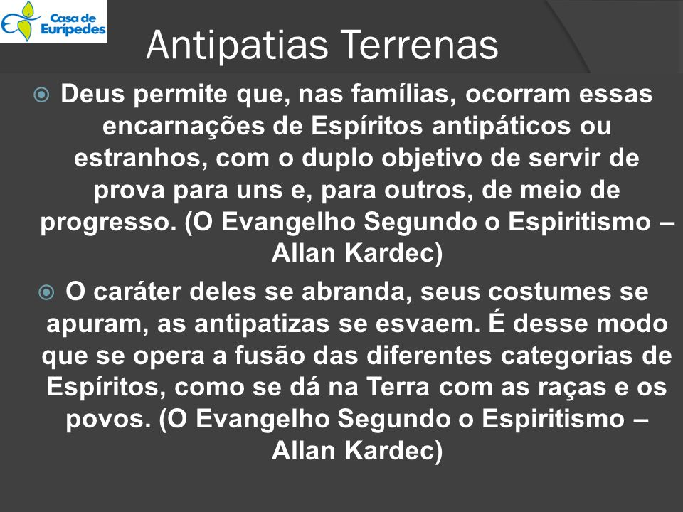 Antipatias Terrenas