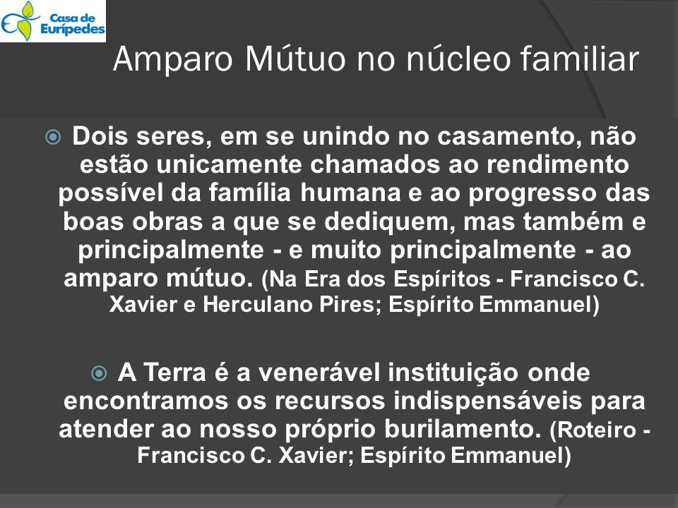Amparo Mútuo no núcleo familiar