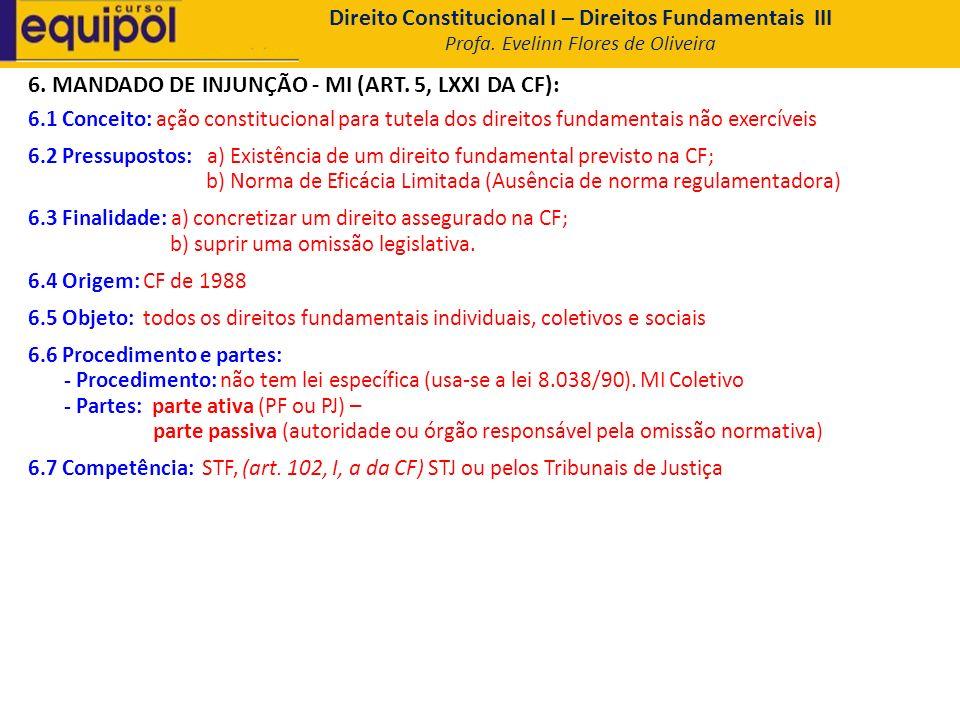 Direito Constitucional I – Direitos Fundamentais III